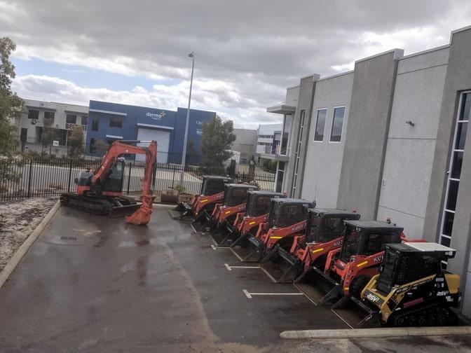 ZELVi Equpments fleet of machinery