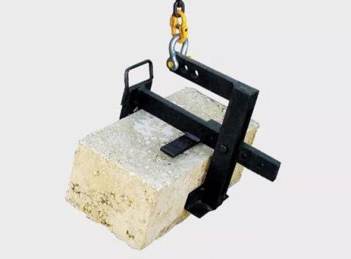 Limestone block lifter attachment