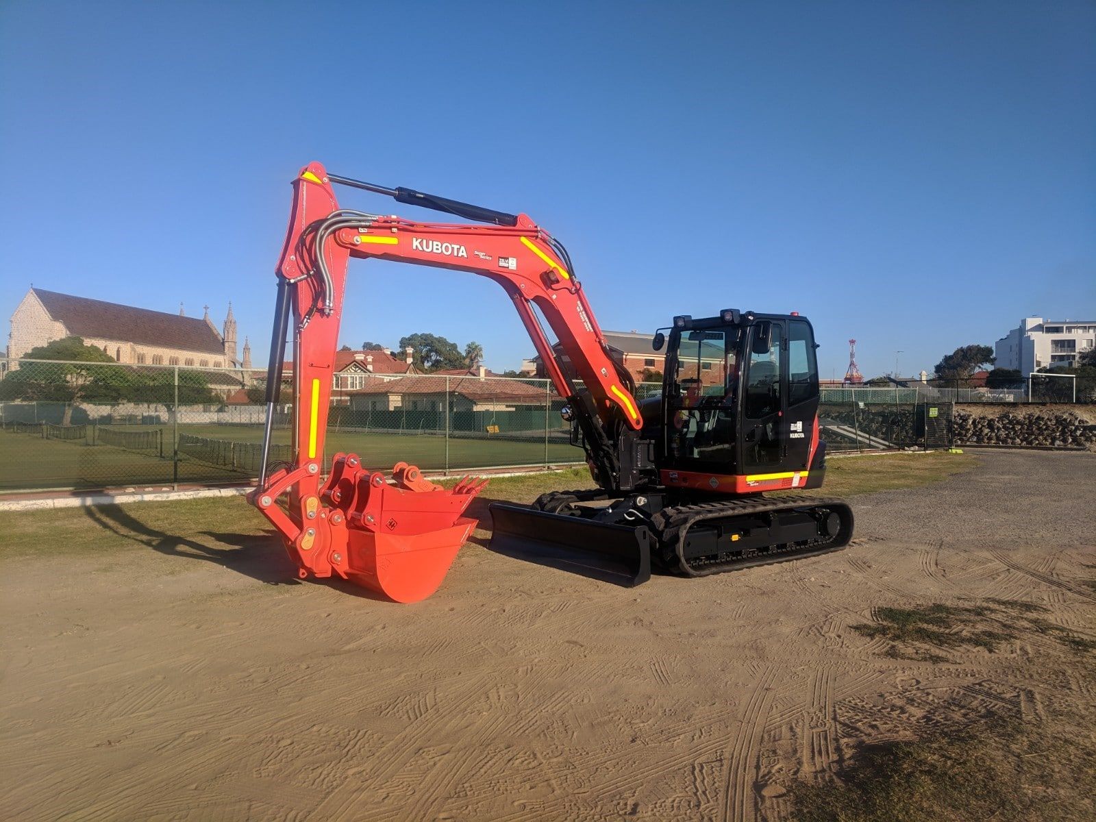 Excavators for hire Perth