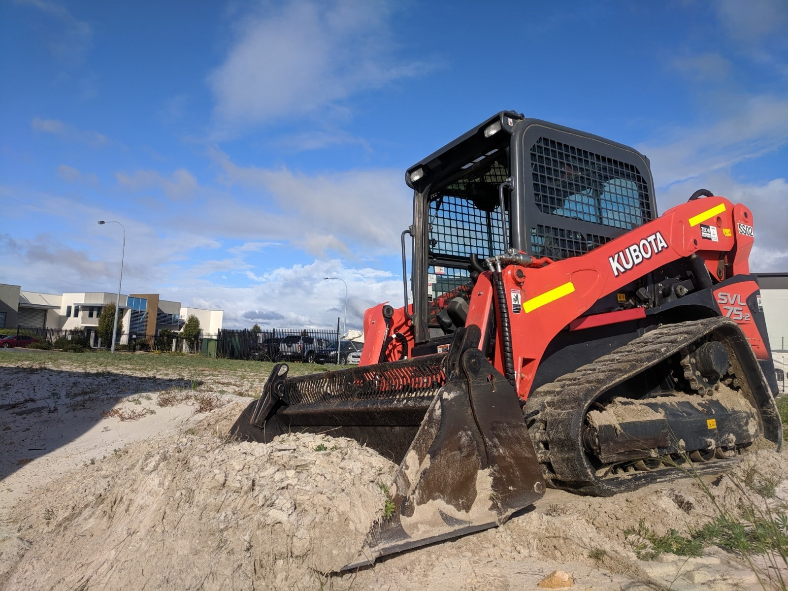Skidsteers, positracks, bobcats for hire Perth