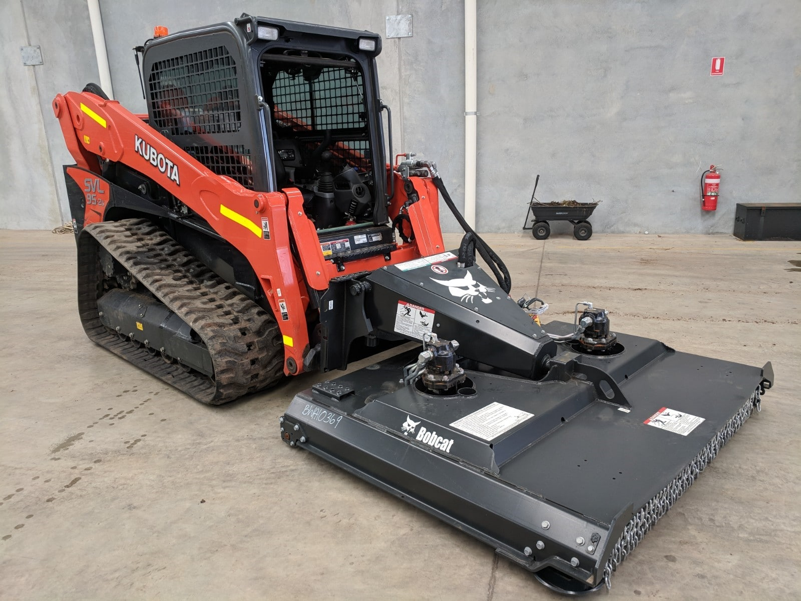 Machinery attachments hire Perth