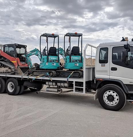 equipment transport service