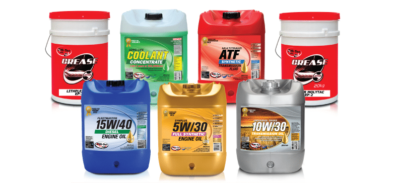 Oils, lubricants and parts for sale