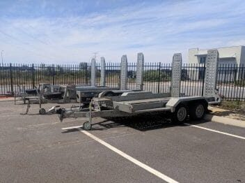 Plant trailer hire and rental