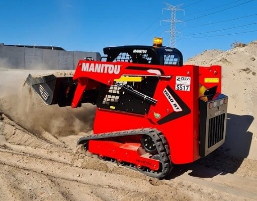 Manitou 1050RT Compact loader for hire in Perth
