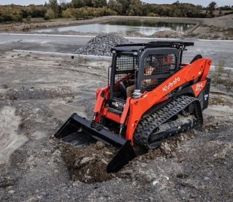 Kubota SVL97-2 for Hire in Perth