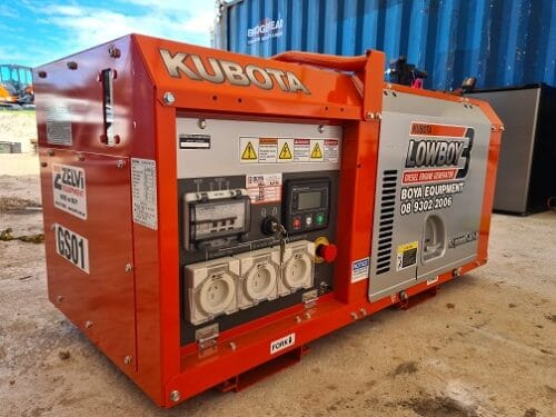 Kubota Diesel Generator Hire in Perth