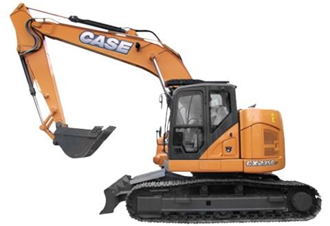 CASE CX235C SR for Hire Perth