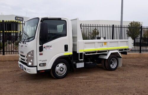 Tipper Truck Hire in Perth