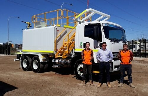 Water Truck hire and rental in Perth
