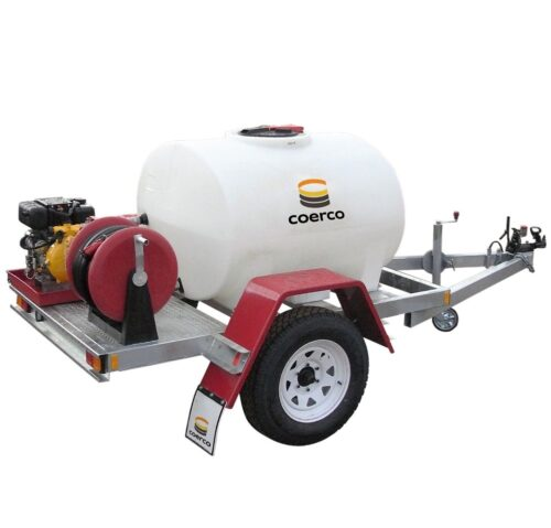1000 Ltr Firefighting Trailer Unit Hire Perth